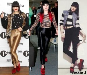 Jessie J com Creeper