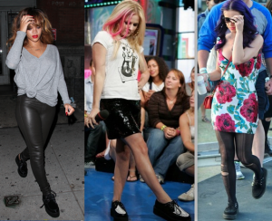 Rihanna, Avril Lavigne e Katy Perry usam Creeper