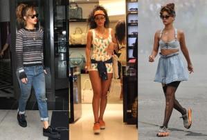 Rihanna usando Creeper